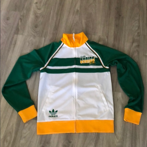 adidas Other - Vintage Adidas Seattle Sonics Track Jacket ce2695bd9